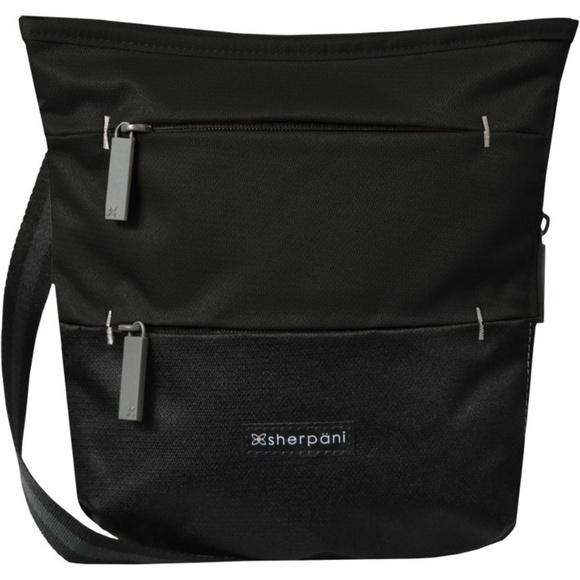 e39e1e162 Sherpani Bags | Sadie Crossbody Bag In Raven Black | Poshmark
